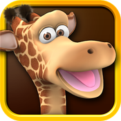 iPad 版会说话的长颈鹿,吉娜 - Talking Gina the Giraffe for iPad